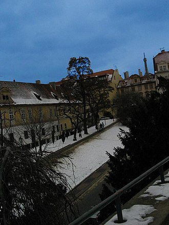 Hradčany - Image: Hradcany 1927