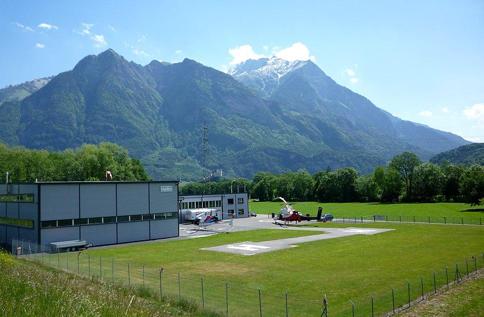Hubschrauberlandeplatz Balzers Liechtenstein