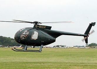 MD Helicopters MD 500 - A Hughes 500 Model 369D