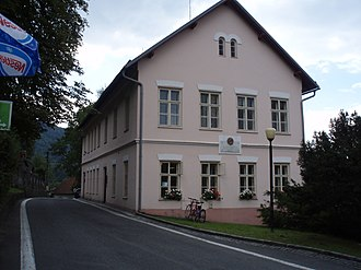 Leoš Janáček - The school in Hukvaldy, Janáček's birth house