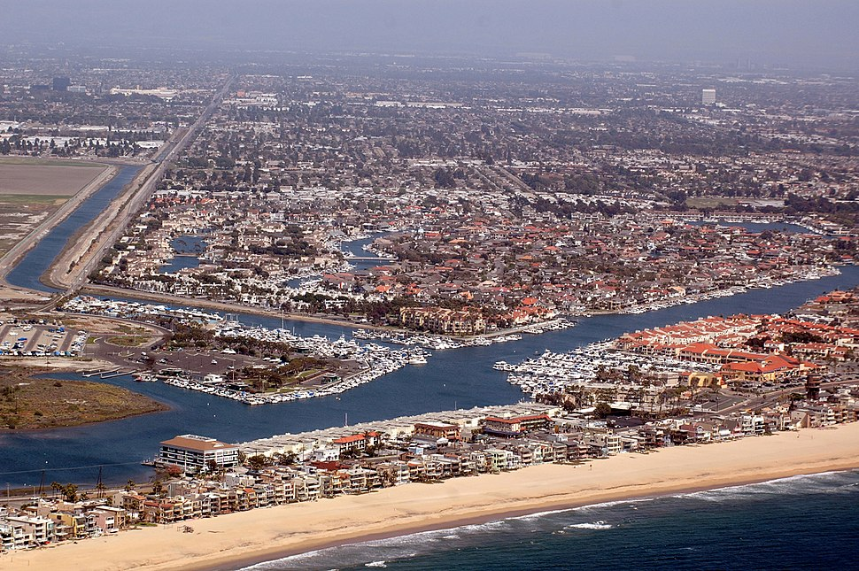 HuntingtonHarbor CA Aerialphoto D Ramey Logan