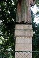 Husův pomník, náves, Lhotka, okr. Mělník, Středočeský kraj 02.jpg