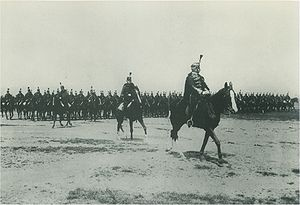 Imperial and Royal Hussars - Imperial and Royal Hussars on parade