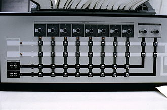 IBM System/360 Model 67 - Left side, 2167 configuration console for the IBM/System 360 Model 67-2 (duplex) at the University of Michigan, c. 1969