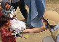 ISAF VCR Aids Afghan Refugee Camp DVIDS300311.jpg