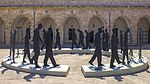 ISR-2015-Acre-Museum of the Underground Prisoners-Daily Stroll of Prisoners (sculpture) 03.jpg