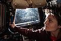 ISS-42 Samantha Cristoforetti enjoys a sunrise.jpg
