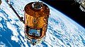 ISS-61 HTV-8 cargo craft uncoupled for releasing from the ISS.jpg