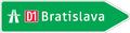 IS 19b - Smerová tabuľa pre príjazd k diaľnici (nepriama referencia, vpravo).png