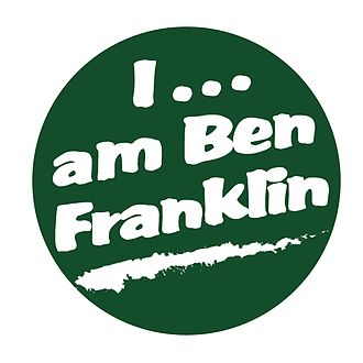 Benjamin Franklin High School (New Orleans) - I...am Ben Franklin campaign emblem