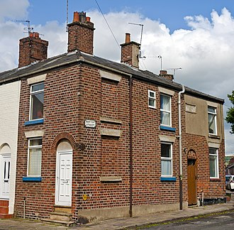 Ian Curtis - Image: Ian Curtis house at 17 Barton Street, Macclesfield