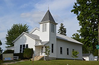 Iberia, Ohio - Presbyterian church