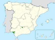 Iberian lynx distribution in Spain (end of 2011).png