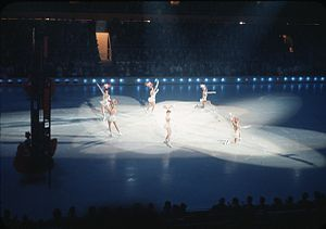 Ice Follies - Image: Ice Follies at 1962 Worlds Fair 02