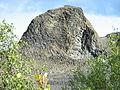 Iceland Jökulsárgljúfur Nationalpark rock.JPG