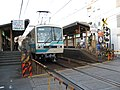 Ichijoji station by Hidehiro Komatsu in Kyoto.jpg