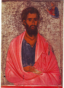 Icon of saint Jacob