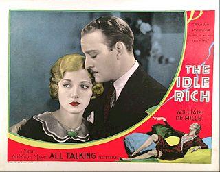 <i>The Idle Rich</i> (1929 film) 1929 film