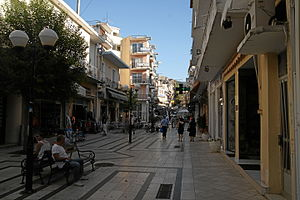 Igoumenitsa - View of a street