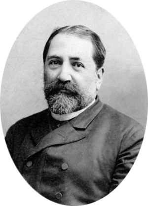 Alexander Roinashvili - Phototgraph of Ilia Chavchavadze by Alexander Roinashvili