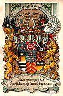 Wappen des Großherzogtums Hessen