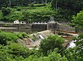Imai hydroelectric power station weir.jpg