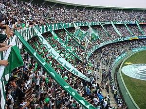 Coritiba Foot Ball Club - One hour before the match between Coritiba and Ceará in the 2007 Campeonato Brasileiro