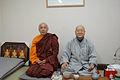 In Hwan seunim and Ven. Bodhi Pannya Gunika Bhikkhu.JPG