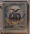 Inaugural ball program - James A Garfield National Historic Site (34857438406).jpg