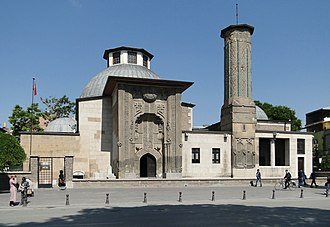 Sultanate of Rum - Ince Minaret Medrese, a 13th-century madrasa located in Konya, Turkey