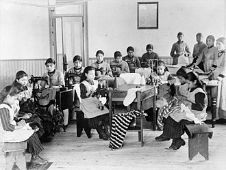 Fort Resolution - Image: Indian Residential School, (Fort) Resolution, Northwest Territories Pensionnat indien catholique de (Fort) Resolution (Territoires du Nord Ouest) (14112742441)