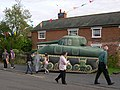 Inflatable tank, Laxfield High Street - geograph.org.uk - 1089473.jpg