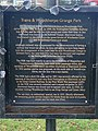 Information board by the Train Sculpture in Woodthorpe Grange Park - geograph.org.uk - 1198270.jpg