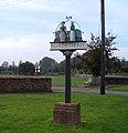 Ingoldisthorpe Village Sign - geograph.org.uk - 262345.jpg