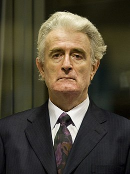 Initial appearance Radovan Karadžić at his trial - 31 July 2008.jpg