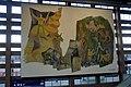 Innsbruck Hauptbahnhof, südliches Max Weiler Bild.JPG