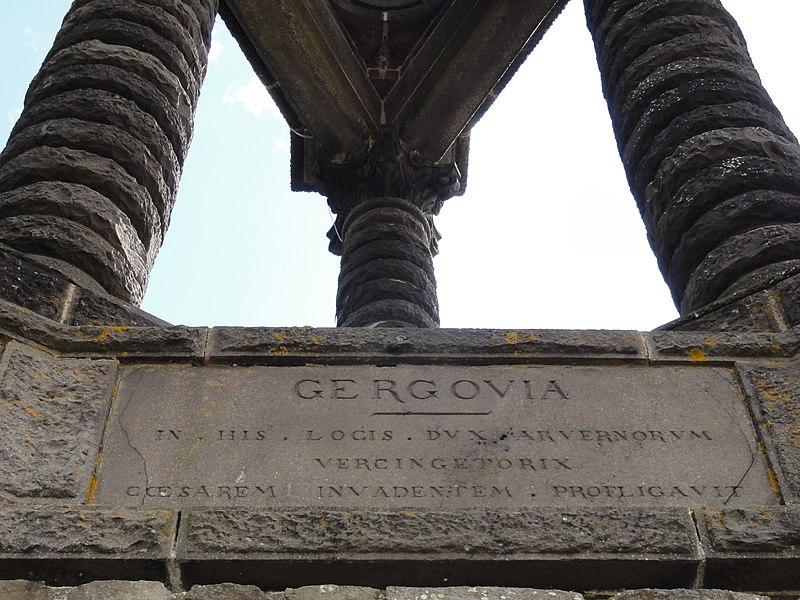 Gergovie (Inscription)