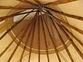 Inside of the Blackfeet Tipi at the Brooklyn Museum. - panoramio.jpg