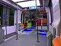 Intérieur Train Francilien Gare Haussmann St Lazare Paris 4.jpg