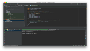 IntelliJ IDEA - Image: Intelli JIDEA 2016.3 Community