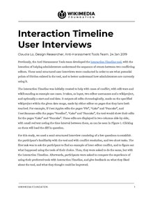 Interaction Timeline User Interviews Report.pdf