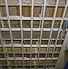 interieur, begane grond, linker voorkamer, plafond, beschilderde moerbalken - 20000805 - rce