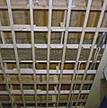 Interieur, begane grond, linker voorkamer, plafond, beschilderde moerbalken - 20000805 - RCE.jpg