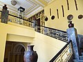 Interior of Institute of Ethiopian Studies (Ethnographic Museum - Former Imperial Palace) - Addis Ababa University - Addis Ababa - Ethiopia (8667491659).jpg