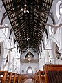 Interior view of ceiling and pews - Christ Church, Rawalpindi.jpg