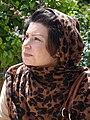 Iranian Woman at Manar Jomban (Shaking Minarets) - Isfahan - Central Iran (7433572486) (2).jpg