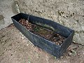Iron coffin cover, Kirkton of Durris kirkyard - geograph.org.uk - 272017.jpg
