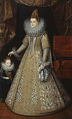 The Infanta Isabella Clara Eugenia (1566-1633), Archduchess of Austria