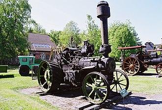 Clayton & Shuttleworth - Image: Iseliikuv lokomobiil Lincoln, 20 sajandi algu, Clayton & Shuttleworth