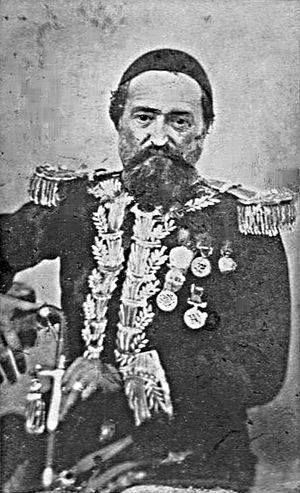 Antoni Aleksander Iliński - Antoni Aleksander Ilinski (Iskender Pasha) as a brigadier general in the Ottoman Army